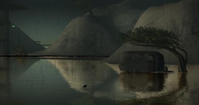Furillen under  water