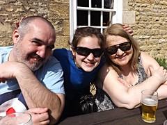 Ralph, Amber and Dot