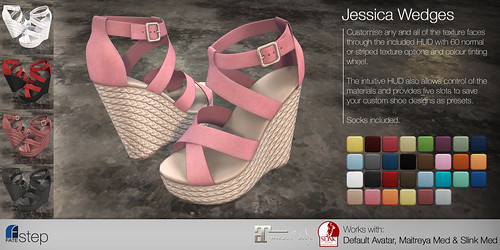 FATEstep - Jessica Wedges