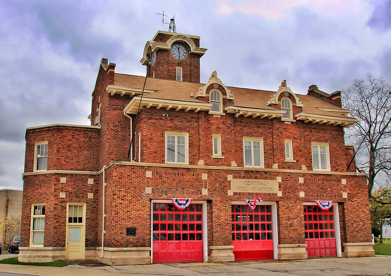 Welland Ontario ~ Canada ~ Central Fire Station  ~ Heritage Building