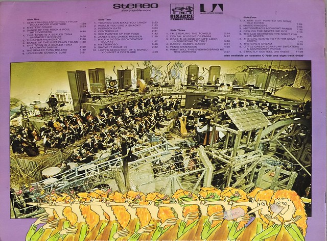 Frank Zappa 200 Motels Gatefold Acid Psych Prog Jazz
