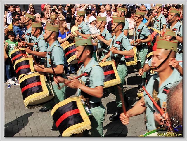 1 Semana Santa en Málaga. Cristo de Mena y Legionarios