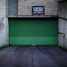 Green gate by Street Photography candid