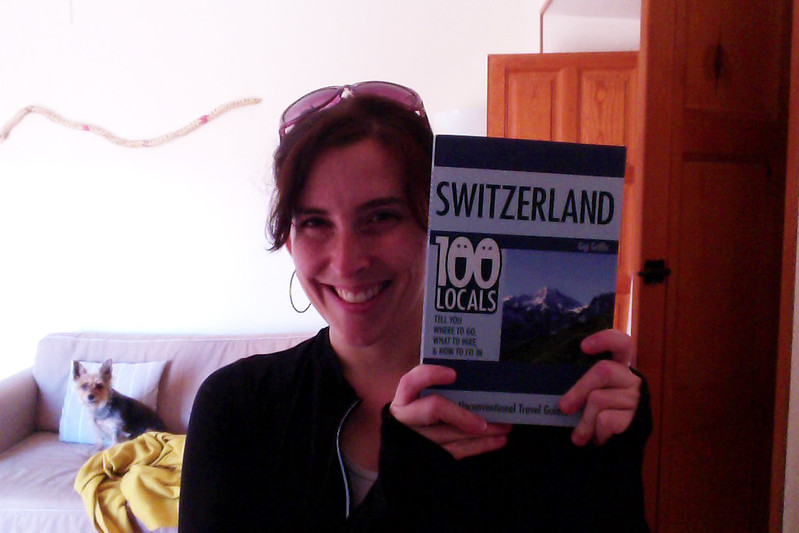 Gigi with her Switzerland guide - 100 locals