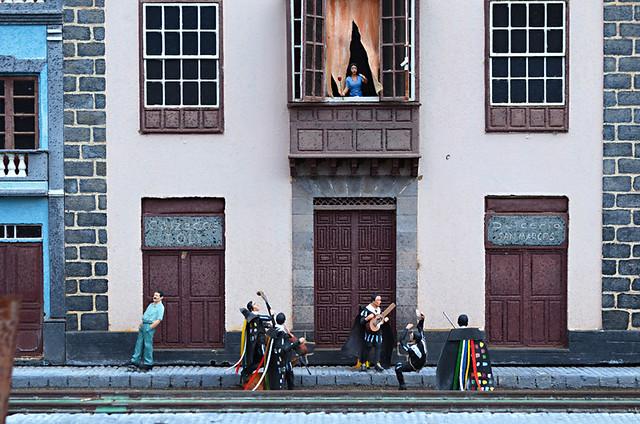 Street serenade, Pueblo Chico, La Orotava, Tenerife