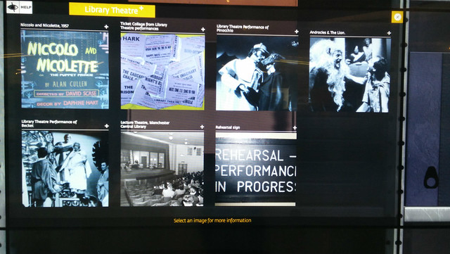 Library Theatre Virtual Archive box