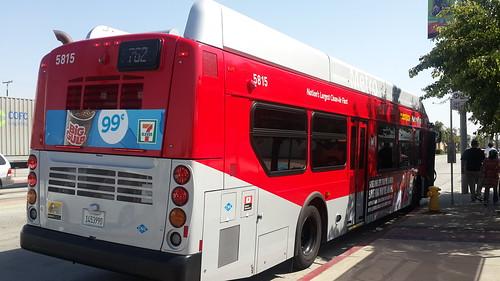 LACMTA Metro Rapid NFI XN40 #5815