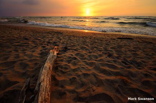 sunset lake seascape beach nature sand nikon waves michigan great wide lakes sigma driftwood 1020mm d5100
