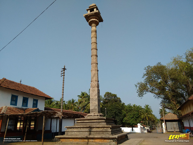 Great Manasthambha of Hiriyangadi in Karkala, Udupi district, Karnataka, India