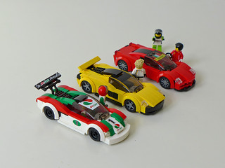 Speed Champions City Scale - Group Shot