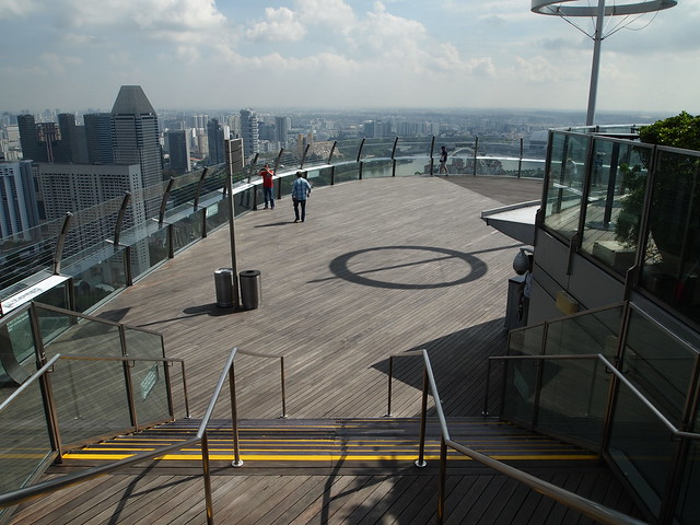 P4189188 SkyPark Observation Deck(展望デッキ スカイパーク) シンガポール