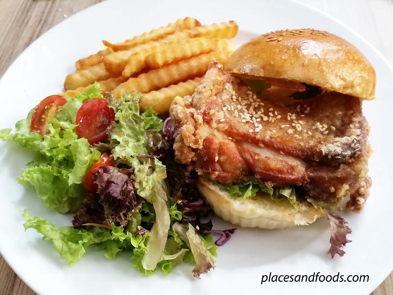 levain boulangerie pattiserie chicken karaage burger