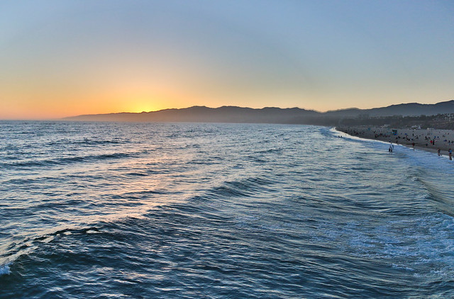 Santa Monica Beach - HDR