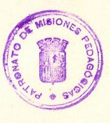 Sello Misiones Pedagógicas