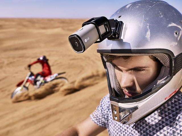 LG เปิดตัวกล้องแอคชัน รองรับ LTE ถ่ายทอดขึ้น YouTube Live ได้ในตัว