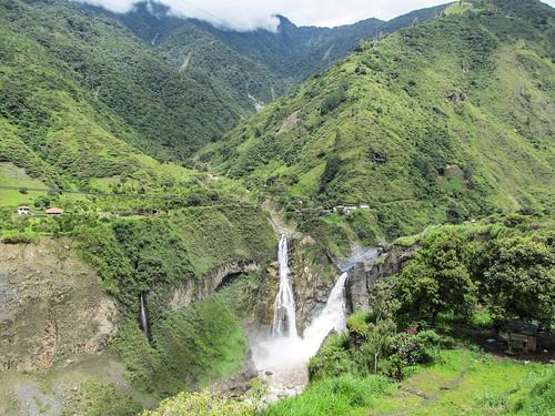 Baños: la cascada Agoyan, la plus haute des Andes équatoriennes