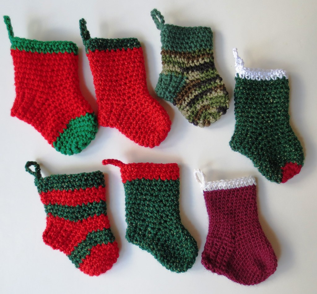 Christmas In July Mini Stockings My Recycled Bags