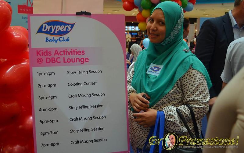 Drypers Moms of Malaysia di Sunway Pyramid