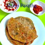 Punjabi style aloo paratha recipe