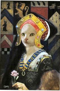 tudor cat lady