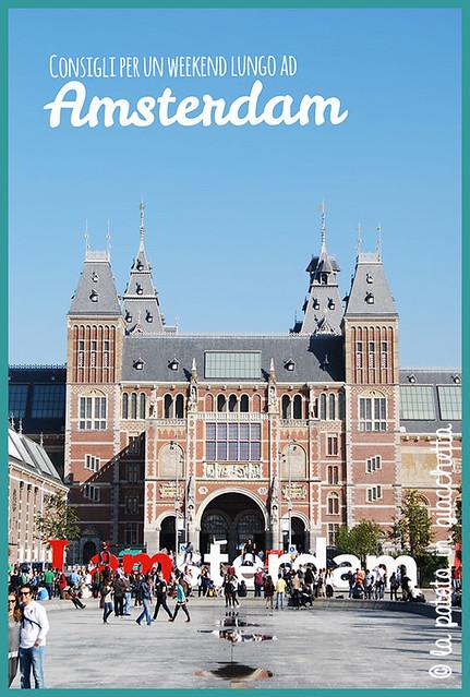 come organizzare un weekend lungo ad Amsterdam