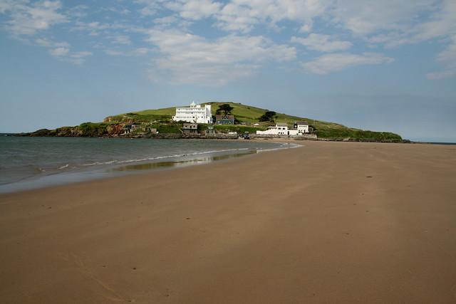Burgh Island from Bigbury-on-Sea