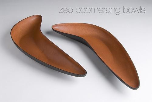 ZEOFORM Boomerang Bowls