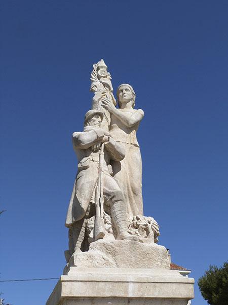 monument aux morts de chateau gombert