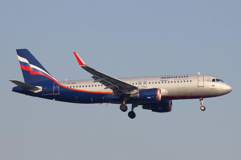 VQ-BRW - A320 - Aeroflot