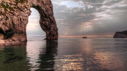 Durdle Door Evening tide
