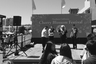 Cherry Blossom Festival - Stage by roland luistro, on Flickr