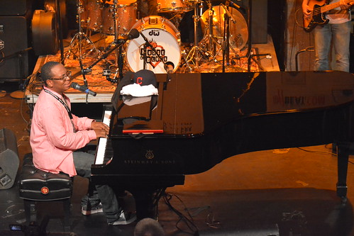 Nigel Hall at WWOZ Piano Night 2015.  Photo by Kichea S Burt.