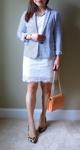 lace + stripes