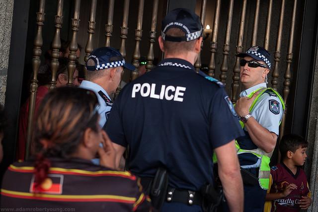 Aboriginal Protest in Brisbane - 2/5/15