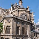 ภาพของ Église Saint-Eustache. city urban paris france art clock church architecture lumix europe panasonic église leshalles sainteustache gh3 ruemontmartre saneustaquio microfourthirds edgardoolivera