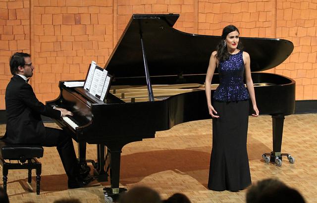 """BELÉN ROIG, SOPRANO, Y JESÚS LÓPEZ BLANCO, PIANO - AUDITORIO """"ÁNGEL BARJA"""" CONSERVATORIO DE LEÓN - 20 DE ABRIL´15"""