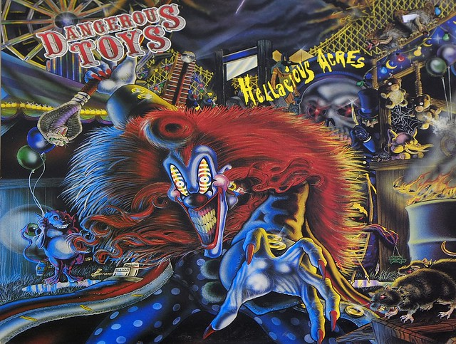 "DANGEROUS TOYS HELLACIOUS ACRES 12"" LP VINYL"