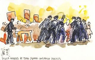 New York arrests