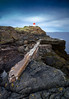 Hawkcraig Point Range Front Lighthouse, 4th May 2015