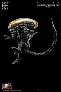 就算Q版還是很恐怖!Herocross 系列推出銀河最強獵食者『異形』!!!