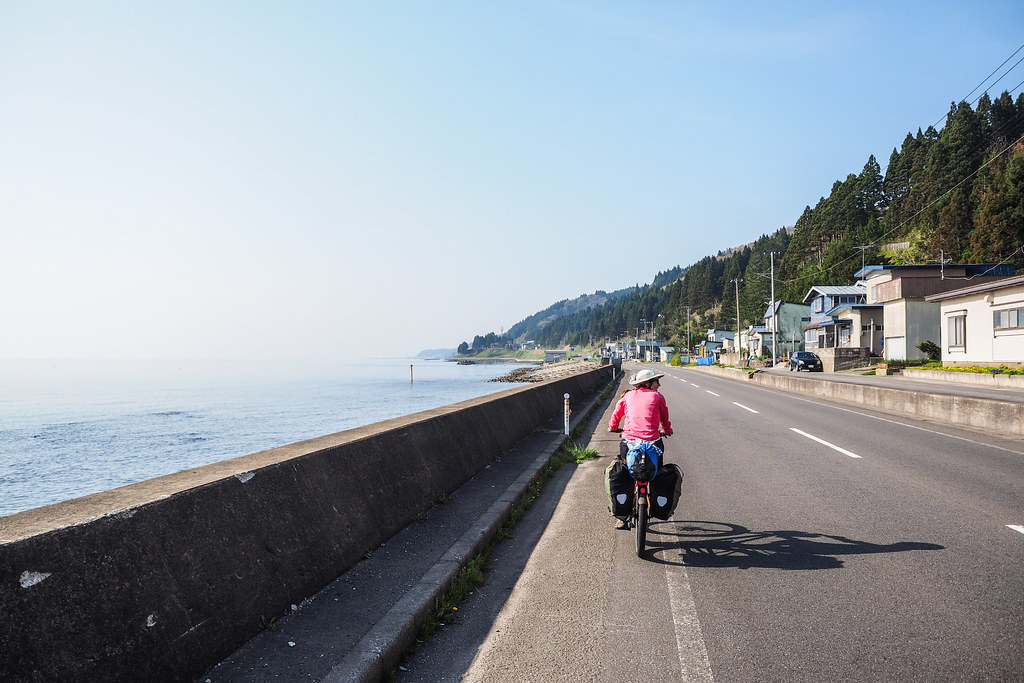 Week-long cycle camping around Aomori Prefecture, Japan