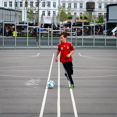 Football at Israels Plads