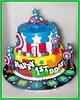 Cake Captain America