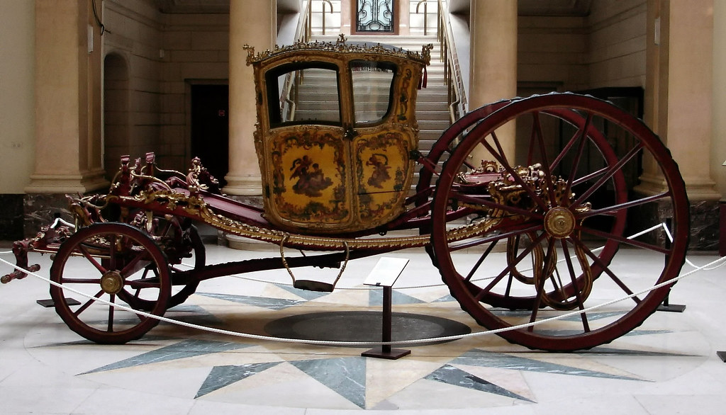 A Gala Coupé, 18th century, Brussels. Credit Carolus