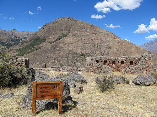 Pisac: le village inca de Pisaqa