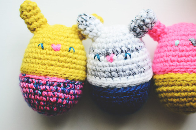 Crochet: Bunny Eggs