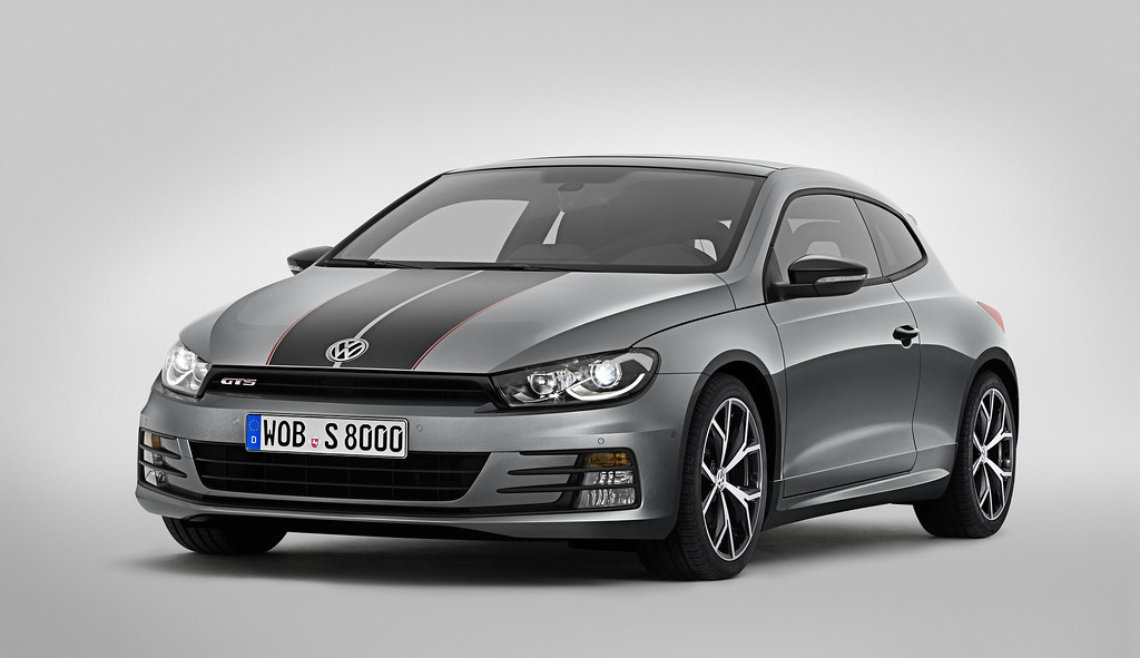 World-premiere of 220 PS Scirocco GTS in Shanghai
