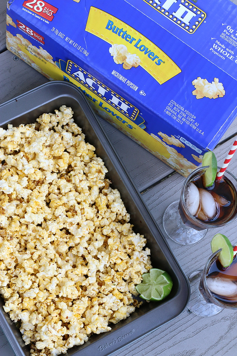 Margarita Popcorn recipe, snack, shop