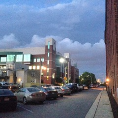 The light was so eerie tonight #nofilter #mybaltimore