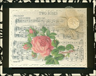 Two Roses - Gift Card Box